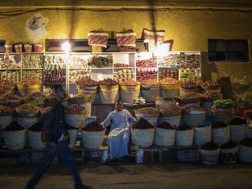 Spice Market in Aswan Egypt