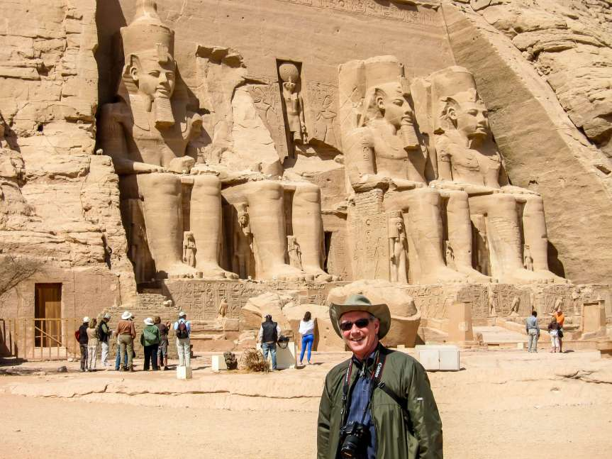 Abu Simbel in Egypt, a dream journey
