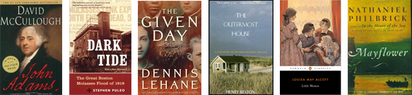 Travel Books: New England