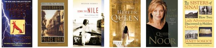 books for Egypt and Jordan
