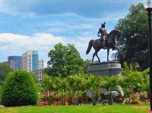 what to do in Boston - everyone should visit the Public Gardens