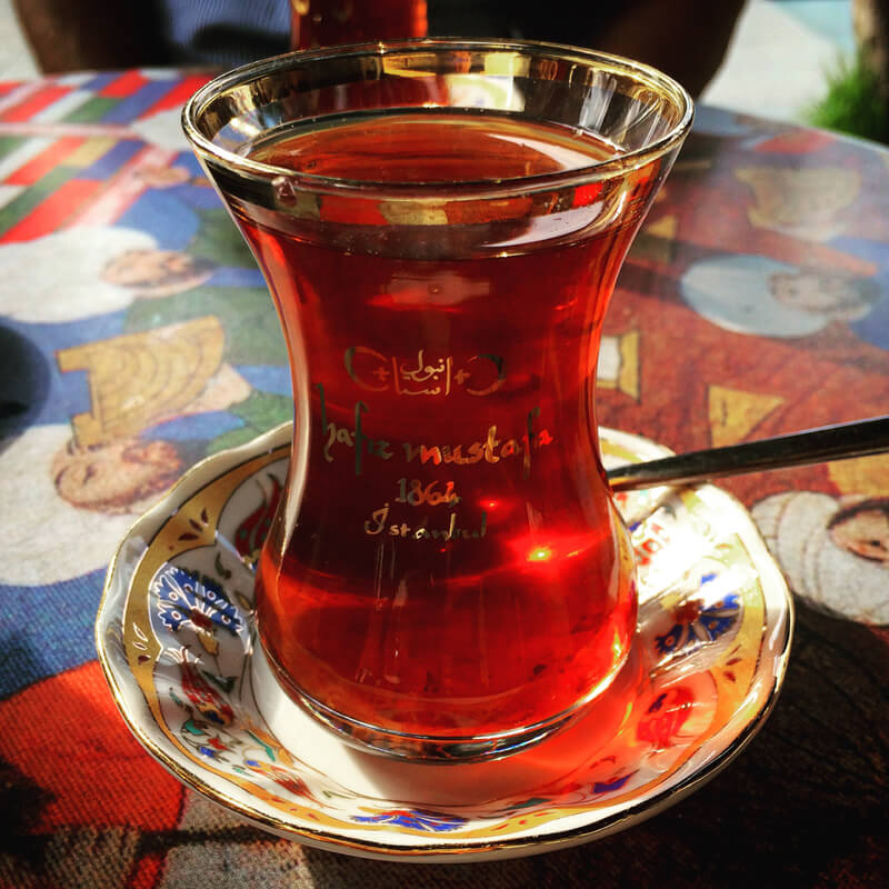 A food tour of Istanbul allowed us to explore the back alleys of the city. And we enjoyed some wonderful tea!