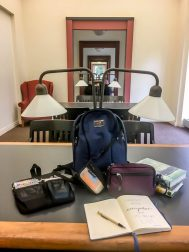 What's in my bag - Bihn EDC lumiinary at the libary