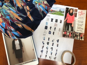 Planning outfits with Stylebook