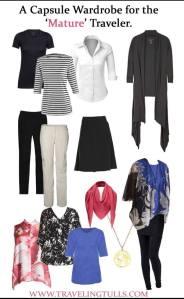 travel wardrobe for women over 50
