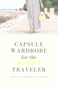 putting together a travel wardrobe