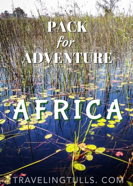 Pack for African Safari