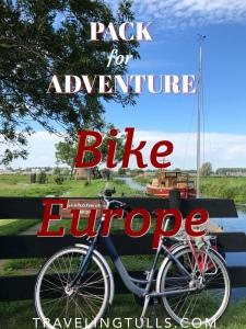 Pack for Adventure: Biking Europe