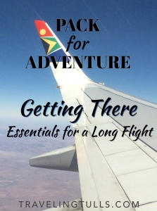 Pack for Adventure: essentials for a long flight