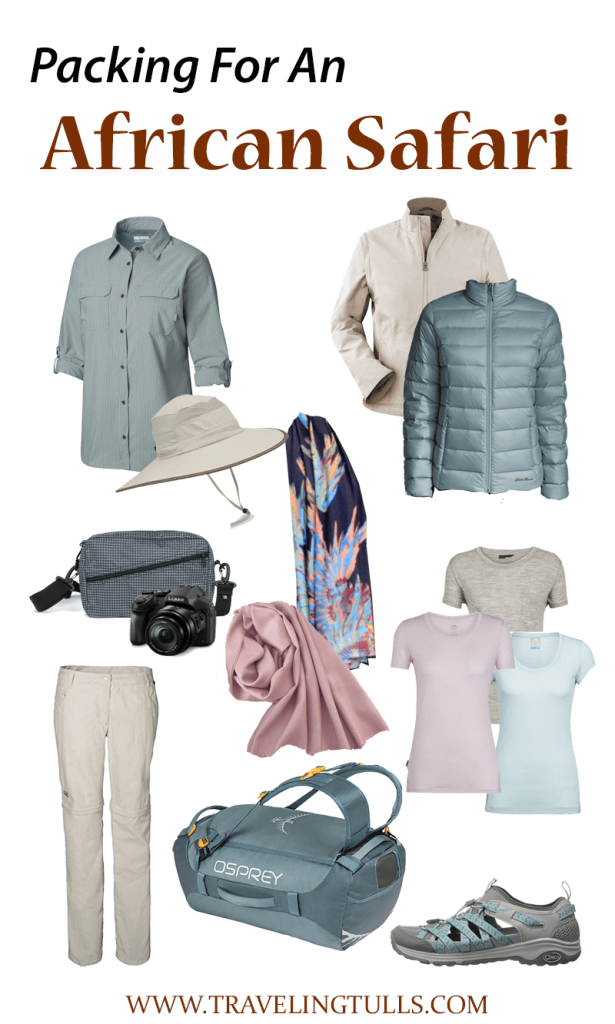Packing for an African Safari