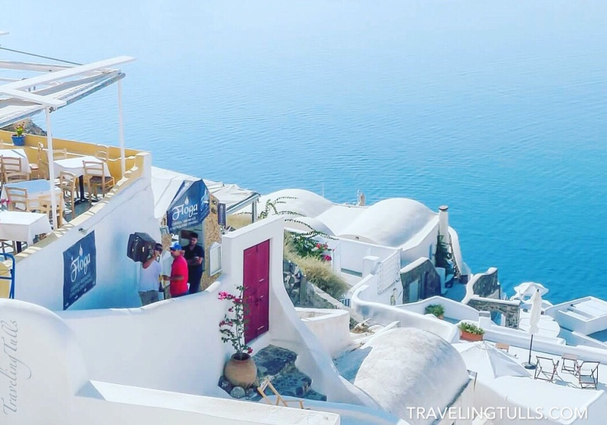 Packing for a Mediterranean Cruise. A visit to Santorini is on many bucket lists!