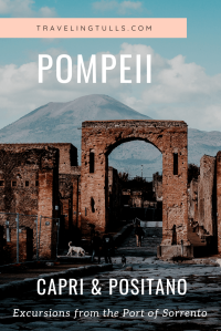 What to do in the port of Sorrento-Pompeii