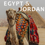 Books recommended for travel to Egypt and Jordan