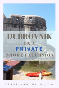 Dubrovnik, Croatia on a private shore excursion