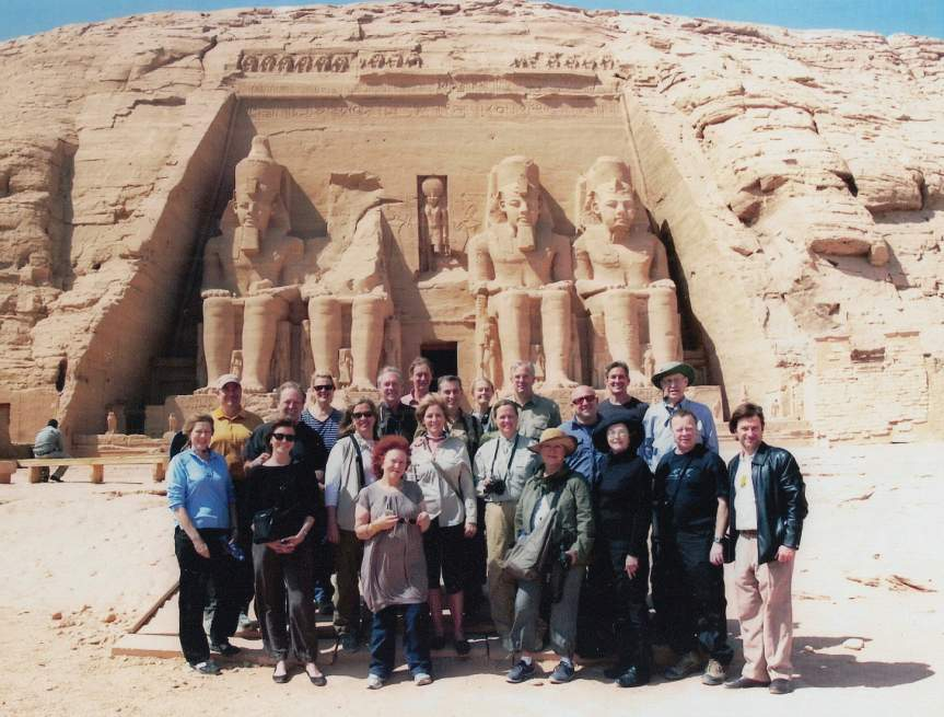 Abercrombie and Kent luxury small group tour of Egypt in Abu Simbel