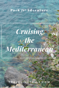 What to pack for a Mediterranean cruise, a free 7 day packing list for a luxury European cruise.