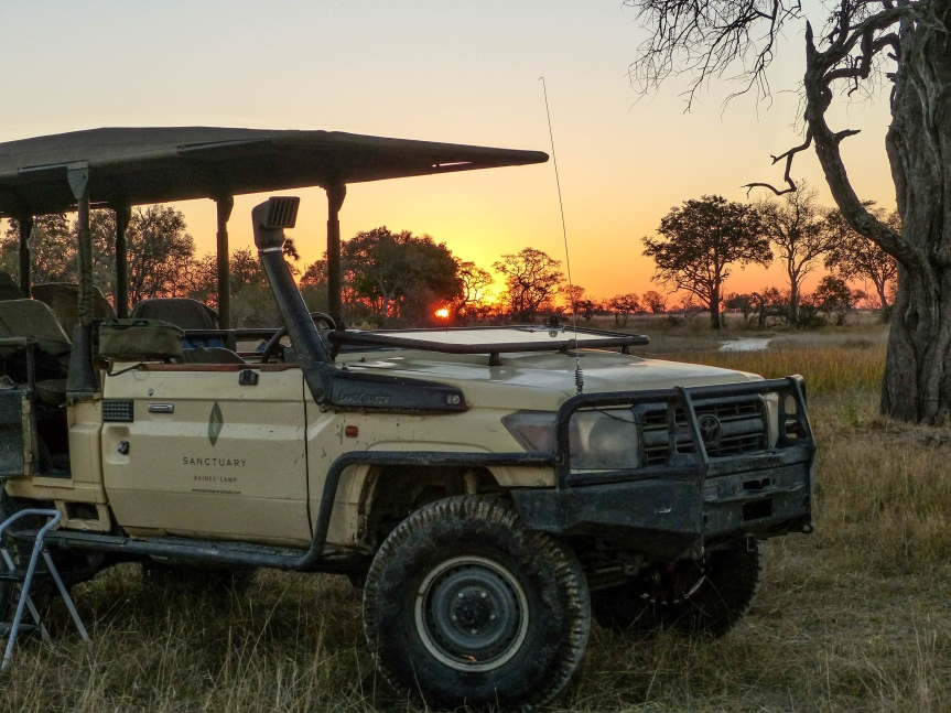 Sundowners on Safari