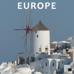 Books for Travel to Europe
