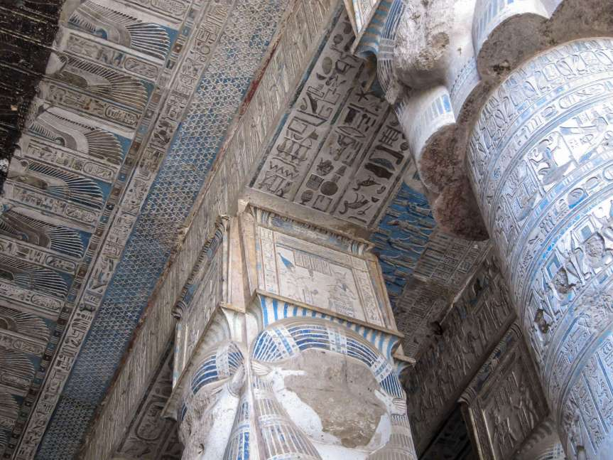 Luxury travel to Egypt. Denderah Temple