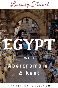 Exploring Egypt with Abercrombie & Kent on a luxury small group tour