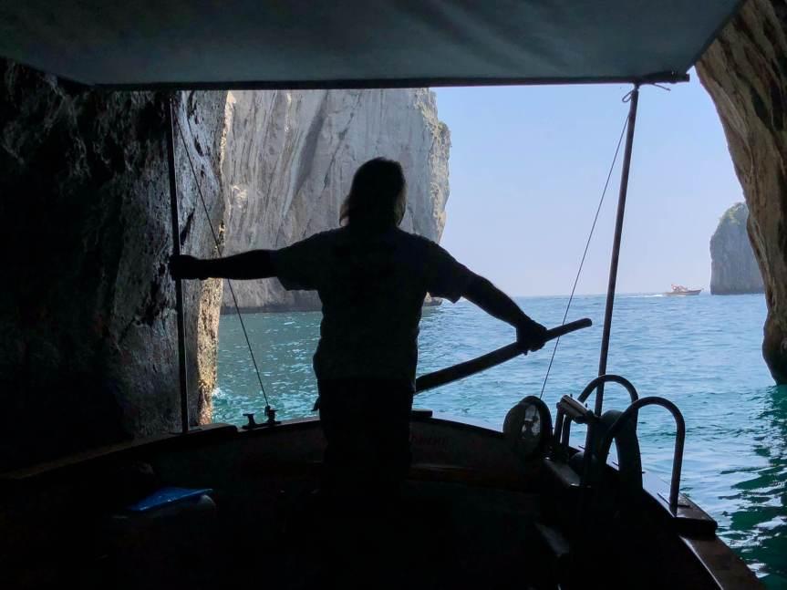 Private boat tour in Capri from port of Sorrento