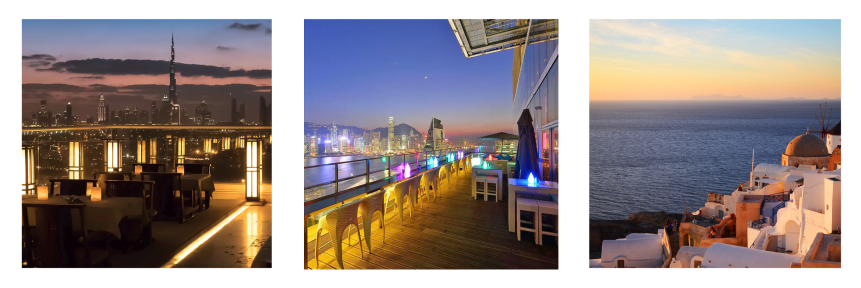 Restaurants with Skyline Views
