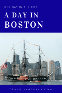 What to do in Boston. A one day walking tour of Boston landmarks