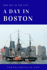 What to do in Boston. A one day walking tour of Boston landmarks