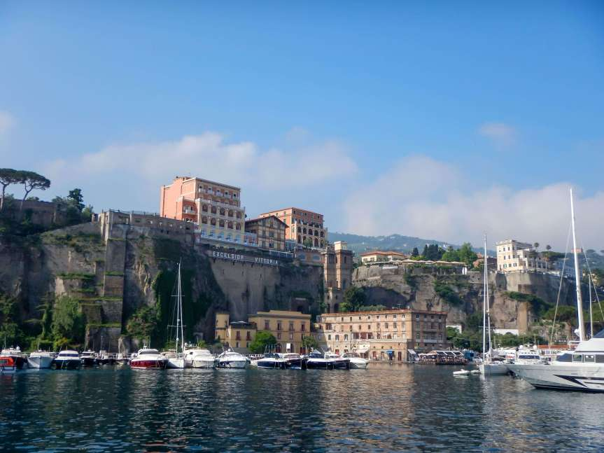 What to do in Sorrento port