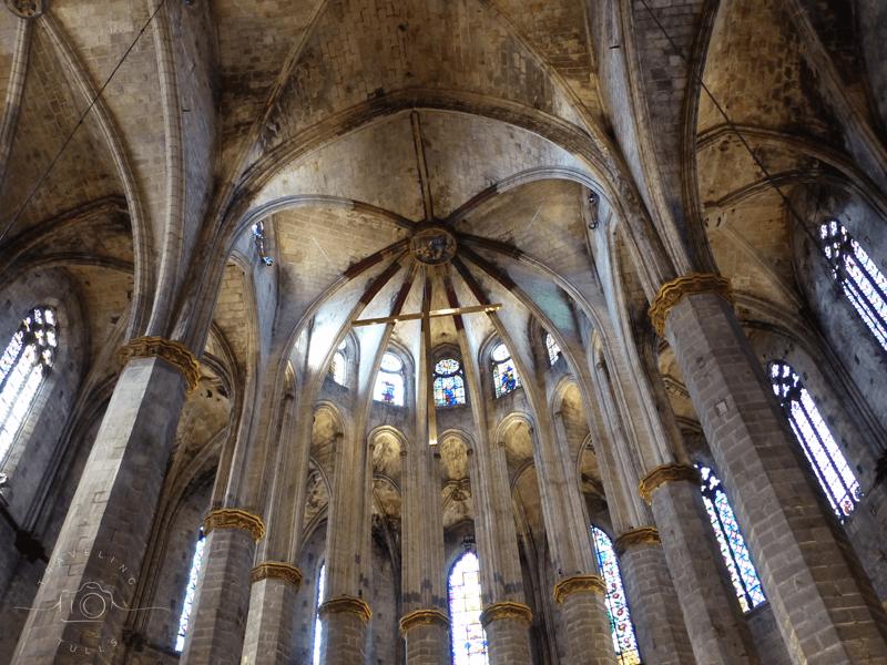Santa Maria del Mar, a must see in Barcelona