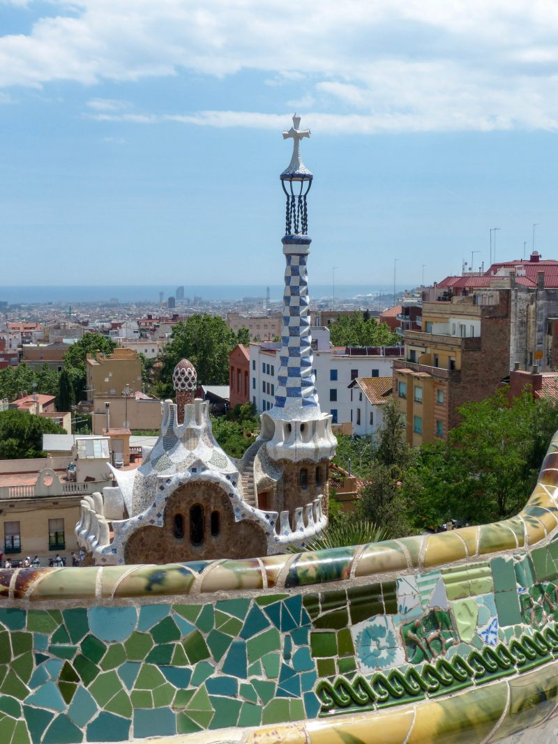 Park Guell in Barcelona is a must see for a visit