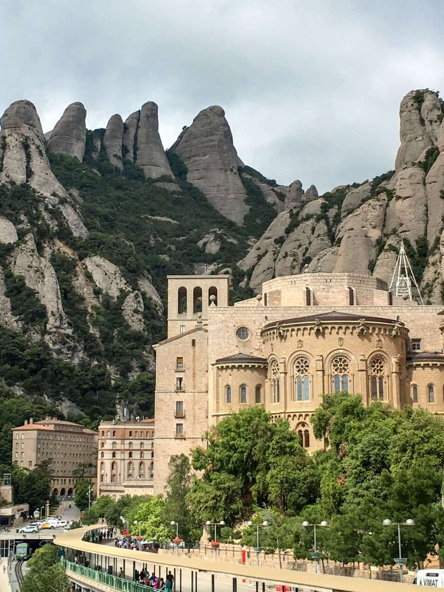 Day trip from Barcelona, Monserrat
