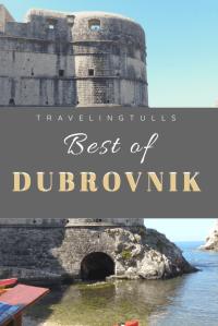 Dubrovnik on a Shore Excursion
