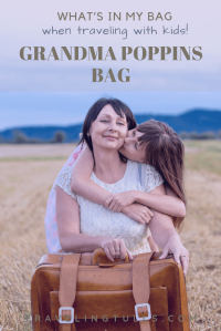 We keep a bag loaded with gear for our weekly grandma days. It's easy to reach for this bag when an adventure arises! Here are our packing tips for your Grandma (or Grandpa!) Poppins bag.
