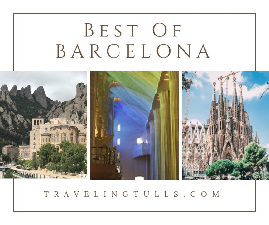 Popular Barcelona Experiences for a One Day Visit… or longer!