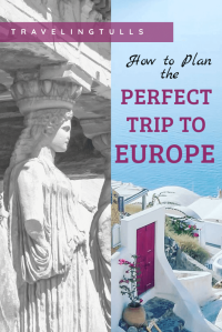 Plan the perfect trip to Europe by combining intense city touring days with relaxing resorts.