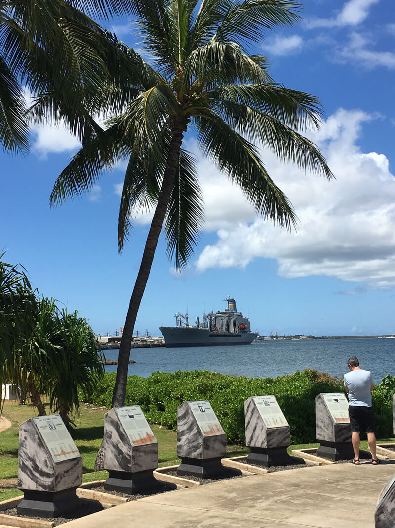 Pearl Harbor National Memorial, a must see for a first time visitor to Honolulu