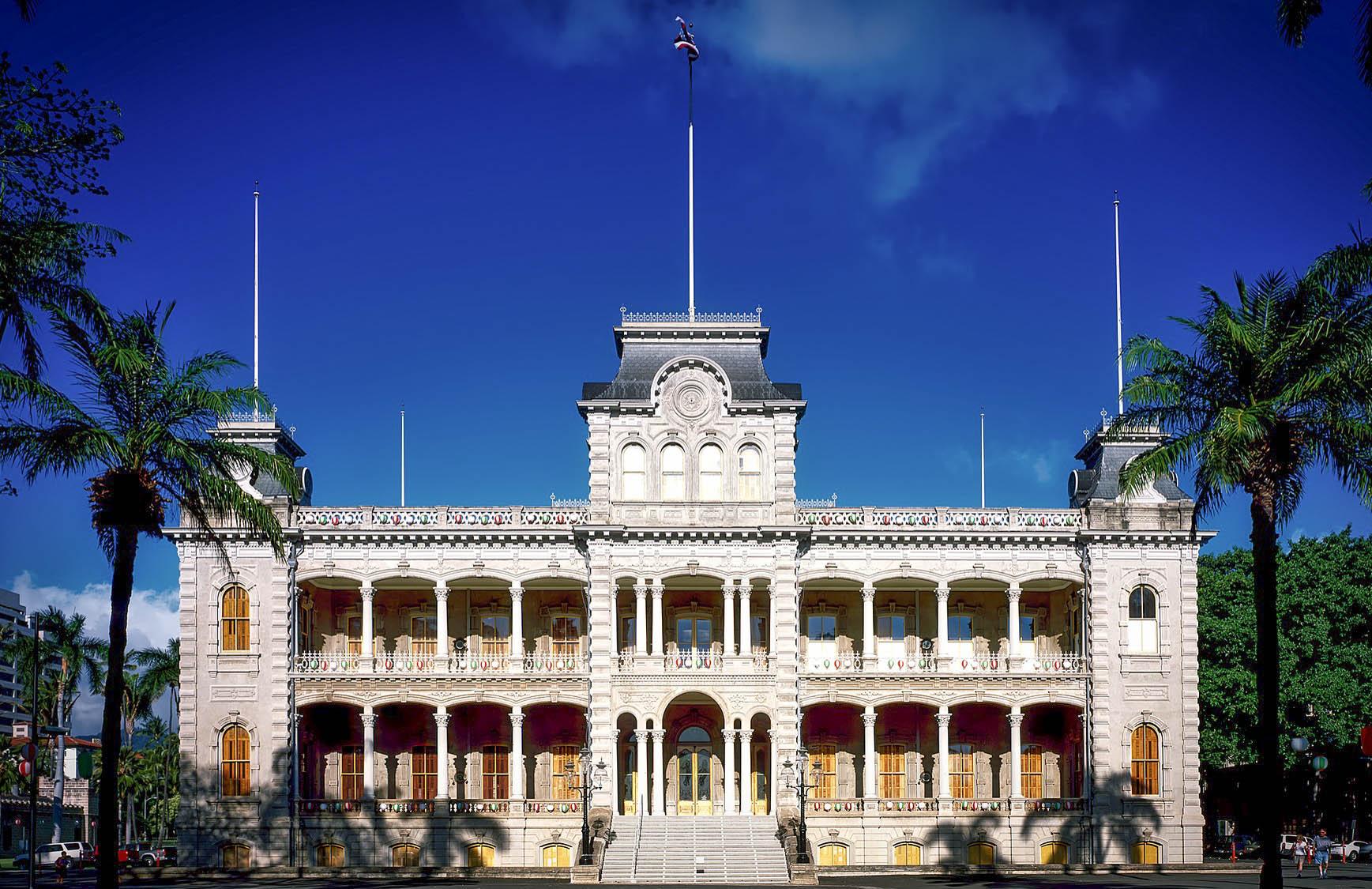 Iolani Palace, home to Hawaii's last monarchs
