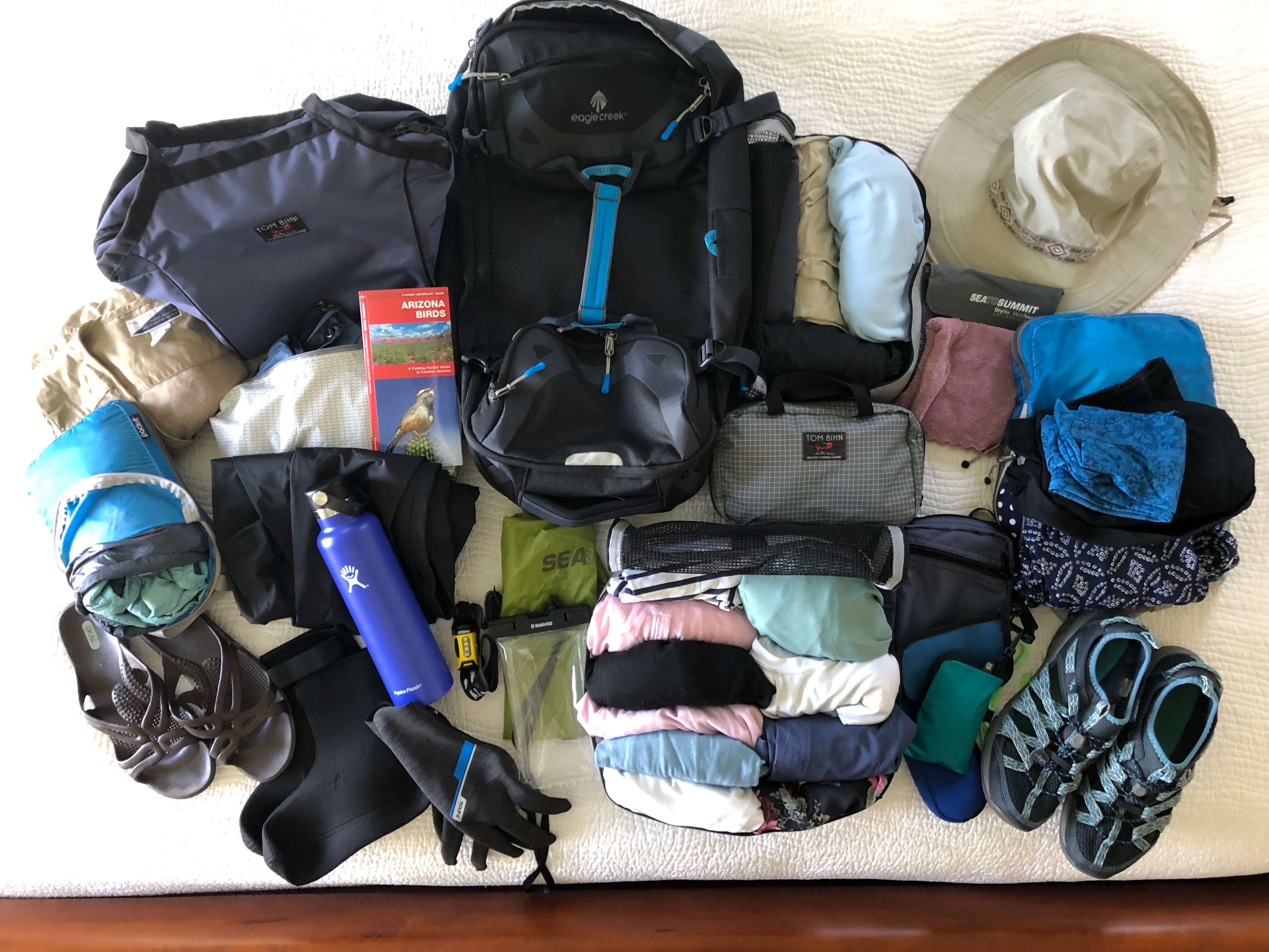 What's in my bag for a rafting and camping trip. Packing for a River Rafting Trip, the Grand Canyon