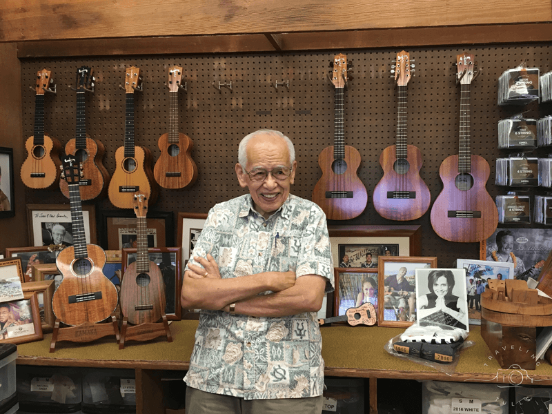 Fred Kamaka of Kamaka Ukeleles, Honolulu