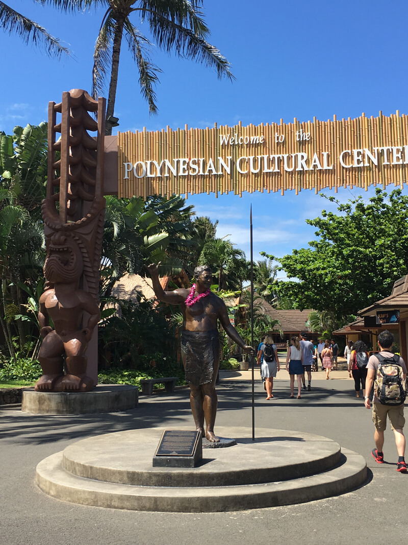 Polynesian Cultural Center on Oahu, a great stop for a first time visitor to Oahu