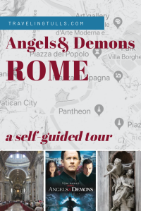 Angels & Demons walking tour of Rome