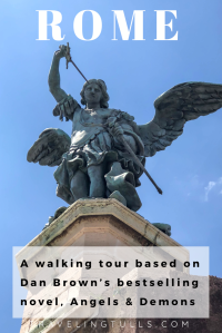 Rome, a walking tour based on Dan Brown's bestselling novel, Angels & Demons