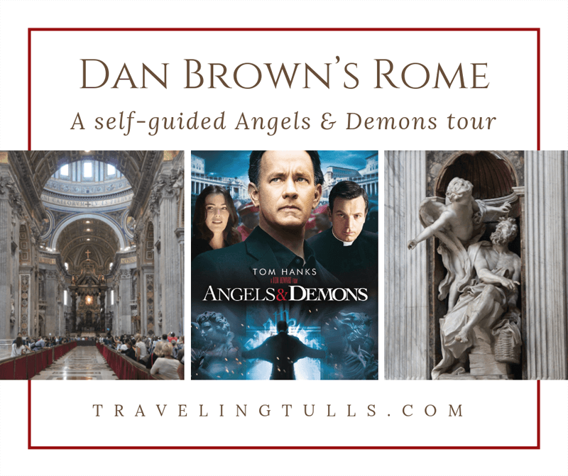 Rome on an Angels and Demons Inspired Self-Guided Walking Tour