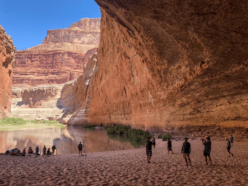 Redwall Cavern - rafting the Grand Canyon
