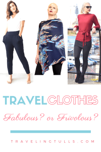 travel clothing for women fabulous or frivolous