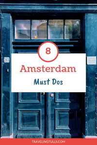 What to do in Amsterdam. A must do activity is visiting the Anne Frank house and Museum