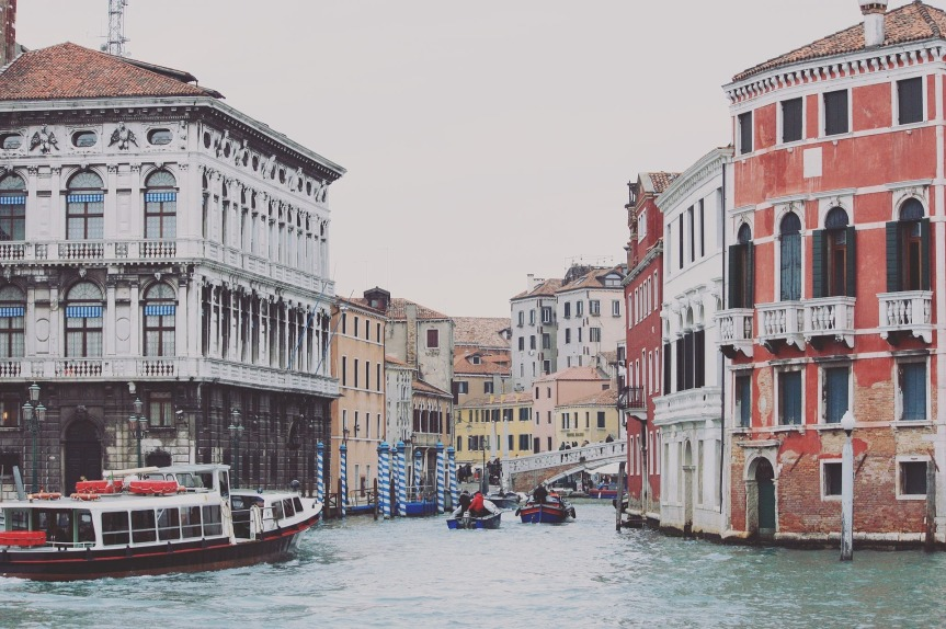 Get a ticket to the Vaporetto for an inexpensive tour of Venice off the beaten path