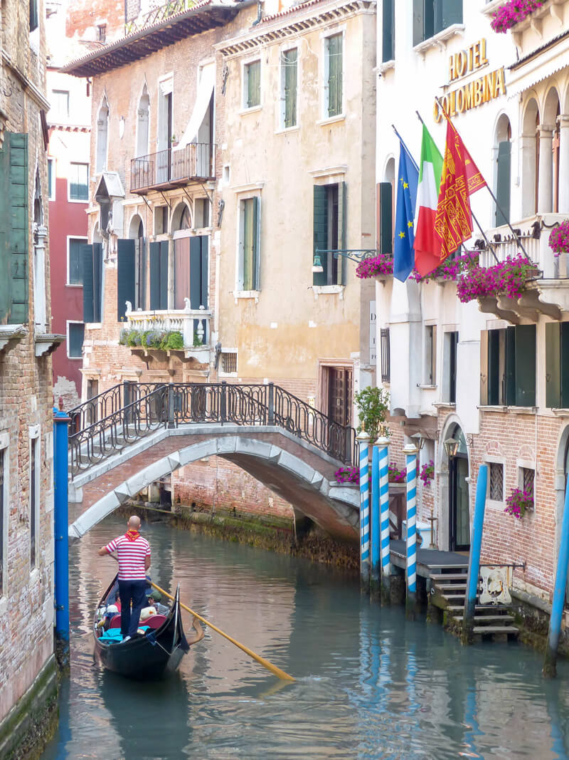 Wandering the alleyways of Venice will bring you to many beautiful hidden gems.