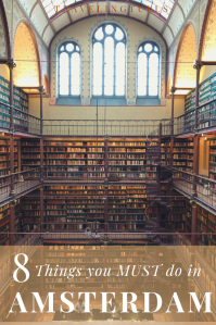 Must dos in Amsterdam, the library in the Rijksmuseum